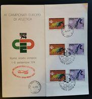 ITALIA 1974 ATLETICA - Italie