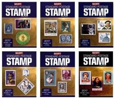 Scott 2017 Standard Postage Stamp Catalogue. Volume 1-6 FREE SHIPPING - Postzegelcatalogus