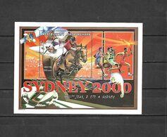 Olympische Spelen  2000 , Madagascar - Blok Postfris - Estate 2000: Sydney