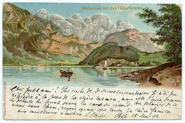 Wallensee.7 Churfürsten. Les 7 Princes-électeurs Du Saint-Empire Romain Germanique.montagnes Humanisées.anthropomorphes. - Andere