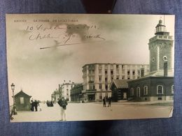 Postkaart Knokke Le Phare De Lichttoren 1912/Postcard Knokke Le Phare De Lichttoren - Knokke
