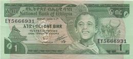 Ethiopie : 1 Birr Sans Date : UNC - Etiopia