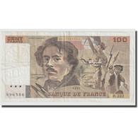 France, 100 Francs, Delacroix, 1993, TTB, Fayette:69bis.7, KM:154g - 1962-1997 ''Francs''