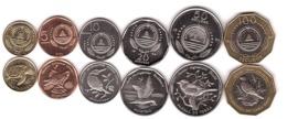 Cape Verde - Birds - Set 6 Coins 1 5 10 20 50 100 Escudos 1994 UNC Lemberg-Zp - Kaapverdische Eilanden