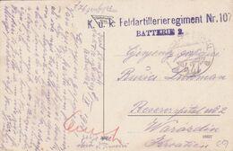GRAZ85  --  GRAZ  --  MUR  --  SCHLOSSBERG BAHN  --  1918  --  K.u.k.  FELDARTILERIEREGIMENT Nr. 107 -  BATERIE 2 - Graz