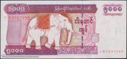 TWN - MYANMAR 81 - 5000 5.000 Kyats 2009 Prefix CW UNC - Myanmar