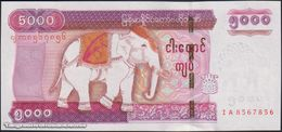 TWN - MYANMAR 83 - 5000 5.000 Kyats 2014 Prefix IA UNC - Myanmar