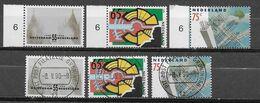 Nederland - 1990 - Yvert 1352/1354 - ** En O - Rotterdam; - Periodo 1980 - ... (Beatrix)