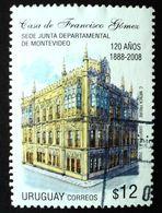 2008 URUGUAY Used - Junta De Montevideo Old Building - Yvert 2363 - Uruguay