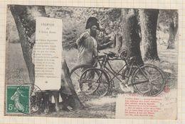 20A986 WASSY A L'ARBRE BOSSU Velo Cycliste 2 SCANS - Wassy