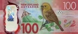 NEW ZEALAND P. 195 100 D 2016 UNC - Nieuw-Zeeland