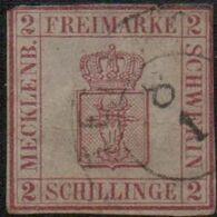 Germany Mecklenburg-Schwerin 1864 2S Mgenta  Cancelled, 2007,1511 - Mecklenburg-Schwerin
