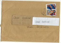 2020 --Lettre Avec 2 Tps Adhésifs --Cachets Ronds - Postmark Collection (Covers)