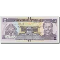 Billet, Honduras, 2 Lempiras, 2014, 2014-06-12, NEUF - Honduras
