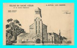 A817 / 355 76 - JANVAL LES DIEPPE Eglise Du Sacré Coeur - France