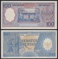 Indonesien - Indonesia 100 Rupiah Banknote 1964 Pick 98 UNC (1)    (21158 - Bankbiljetten