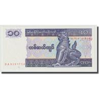 Billet, Myanmar, 10 Kyats, Undated (1991-1998), KM:71a, NEUF - Myanmar