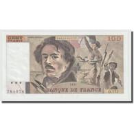 France, 100 Francs, Delacroix, 1991, NEUF, Fayette:69bis.3a3, KM:154e - 1962-1997 ''Francs''