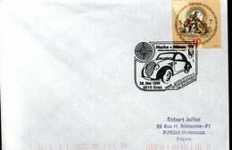 LETTRE AUTRICHE 1999 - MARICE - - Automobili