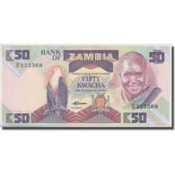 Billet, Zambie, 50 Kwacha, Undated (1986-88), KM:28a, NEUF - Zambia