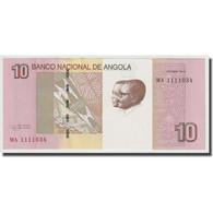 Billet, Angola, 10 Kwanzas, 2012, 2012-10, KM:145b, NEUF - Angola