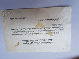 INVITACION A CASAMIENTO, BODA. INVITATION TO WEDDING INVITATION AU MARIAGE 1993 - Altre Collezioni