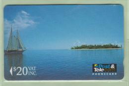 Fiji - 1992 First Issue - $20 300 Islands - FIJ-005 - FU - Figi