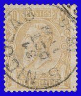 "COB N° 50 - Belle Oblitération  ""St NICOLAS"" - 1884-1891 Leopold II."