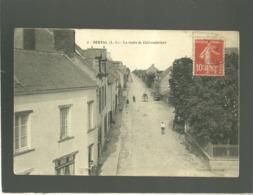 44 Derval La Route De Chateaubriant édit. Briand N° 2 - Derval