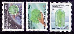 Malaysia 1993 14th Commonwealth Forestry Conference Overprinted. Bangkok'93 World Philatelic Exhibition - VFMNH - Malesia (1964-...)