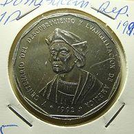 Dominicana 1 Peso 1992 - Dominicaine