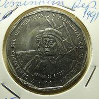 Dominicana 1 Peso 1991 - Dominicaine