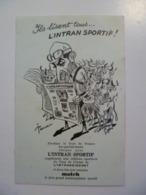 CPA / Carte Postale Ancienne / Journal  L'INTRAN SPORTIF Tour De France Illustration PELLOS - Advertising