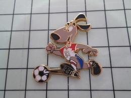 1420 Pin's Pins / Beau Et Rare / THEME : SPORTS / FOOTBALL MONDIAL USA 94 MASCOTTE Par STARPIN'S - Fútbol