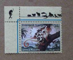 NY01-01 : Nations-Unies (New-York) / Protection De La Nature - Couscous Tacheté (Phalanger Maculatus) - Unused Stamps