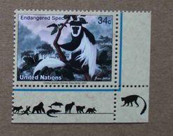 NY01-01 : Nations-Unies (New-York) / Protection De La Nature - Colobe Guéréza (Colobus Guereza) - Unused Stamps
