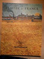Plaisir De France 1954 Lefermier François Vexin Normand  Station Thermale Source Auteuil Vin Tastevin Clos De Vougeot - House & Decoration