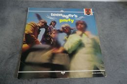Disque - Teenager's Party - The Ravers - The Kettels - Triumph Records ( Polydor) - 240031 - France - - Rock