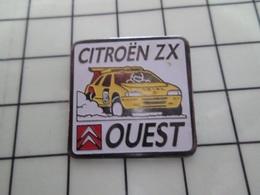 1420 Pin's Pins / Beau Et Rare / THEME : AUTOMOBILES / CITROEN ZX OUEST - Citroën