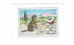 CHATS  ILLUSTRATEUR   JACQUELINE BOURDILLON LE  MACON    *** *  RARE  A SAISIR *** - Other Illustrators