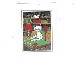 CHATS  ILLUSTRATEUR   JACQUELINE BOURDILLON LA SECRETAIRE  *** *  A SAISIR *** - Other Illustrators
