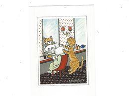 CHATS  ILLUSTRATEUR   JACQUELINE BOURDILLON  CHEZ LE COIFFEUR  *** *  A SAISIR *** - Other Illustrators