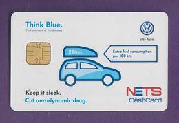 Singapore Cash Card Chip VW Volkswagen Cashcard Unused - Andere Sammlungen
