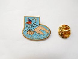 Beau Pin's , JO , Jeux Olympiques  Barcelona 1992 , Secours Populaire , Natation - Olympische Spelen