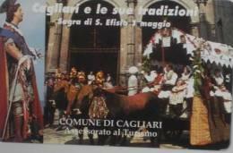 NUOVA-(Mint)-302--PRIVATE PUBBLICHE- CAGLIARI E LE SUE TRADIZIONI - - Italia