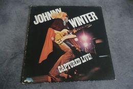 Disque - Johnny Winter - Captured Live ! - Bluesky SKY 69230 - 1976 Hollande - - Rock