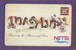 Singapore Cash Card Farecard Used Cashcard - Andere Sammlungen