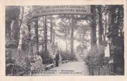 Edegem - Edeghem -  Grot Van OLV Van Lourdes - De Kruisweg - Circulé En 1914 - Animée - TBE - Edegem
