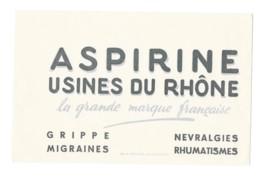 Buvard Pharmaceutique - Aspirine Du Rhône - Chemist's