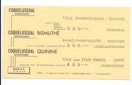 Buvard Pharmaceutique - Coquelusedal - Chemist's